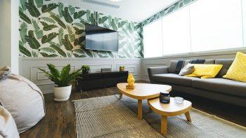 décoration intérieure : maison de style tropical